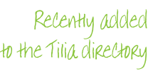 Recently added to the Tilia directory